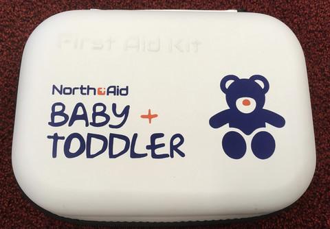 North Aid Baby + Toddler First Aid Kit ensiapupakkaus