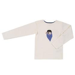 Pigeon t-paita printillä, pitkät hihat
