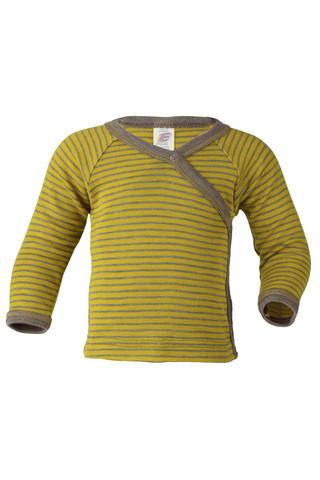 Engel vauvojen silkkivillainen kietaisupaita kelta/ruskea