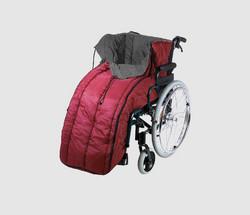 Pyörätuoliin lämmin ulkoilupussi