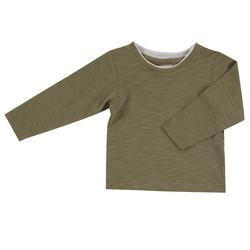 Pigeon pitkähihainen oliivinvärinen t-paita