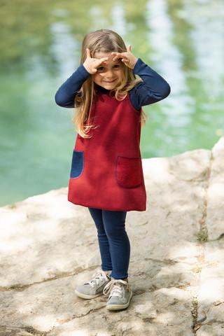 Taskullinen mekko 74-80 cm, IVN Best