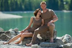 Engel naisten pähkinänväriset silkkivillaiset alushousut, lyhyet lahkeet