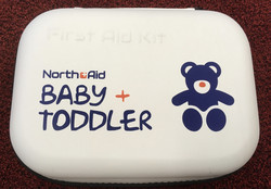 North Aid Baby + Toddler First Aid Kit ensiapupakkaus