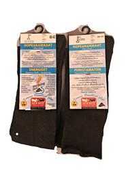 Sidosteen hopeanraikkaat puristamattomat sukat