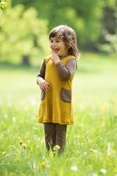 Engel silkkivillainen vauvan mekko