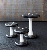 Sienipöytä Mustavalkoinen/ VANKILATUOTE