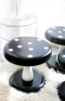 Sienijakkara mustavalkoinen/ VANKILATUOTE