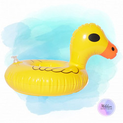 Duck swimming float