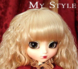 My Style Pullip Veritas Deep Crimson NUDE Doll MSP-177
