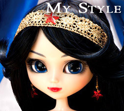 My Style Pullip Wonder Woman Dress NUDE Doll MSP-172