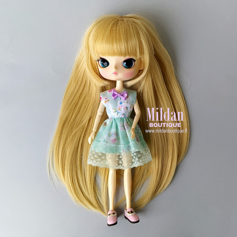 Floral dress for Dal doll