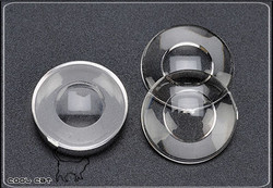 Pullip Custom Flat Pupil Hole chips, clear  PI-P