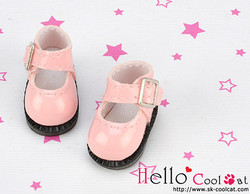 Mini shoes, shiny pink