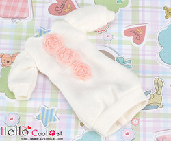 Pullip Lovely Decoration Clothes, White