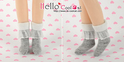 Cool Cat Collection Lace Top Ankle Socks - White