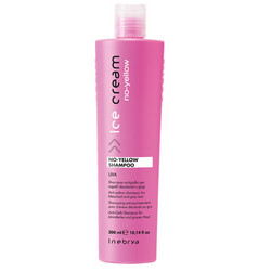 INEBRYA ICE CREAM No-Yellow Violettishampoo 300ml