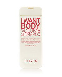 ELEVEN I WANT BODY VOLUME Tuuheuttava Shampoo 300ml