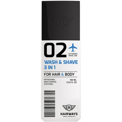 Hairways - 02 Wash & Shave 3 in1 100 ml