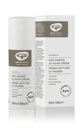 GREEN PEOPLE SENSITIVE ANTI-AGEING 24-HOUR CREAM 50 ML