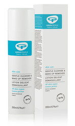 GREEN PEOPLE GENTLE CLEANSE & MAKE-UP REMOVER  200 ML