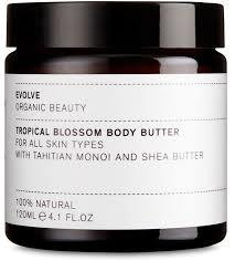 EVOLVE ORGANIC BEAUTY Tropical Blossom Body Butter vartalovoi 120ml