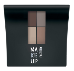 MAKE UP FACTORY Mat Eye Colors Luomiväripaletti no.070  4,8g