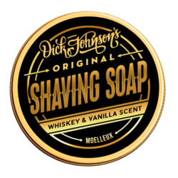 DICK JOHNSON Shaving Soap Moelleux 80g