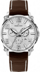 Pierre Petit Chronograph Le Mans silver Swiss Made