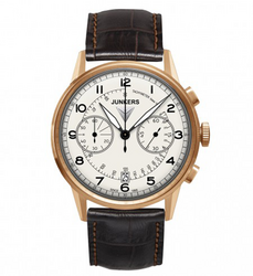 JUNKERS Men's Quartz Chrono Miesten Rannekello