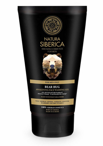 NATURA SIBERICA NS Men Awakening Face Washing Gel Bear Hug, 150 ml