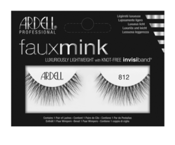 ARDELL Faux Mink False Lashes 812 Black Ardell