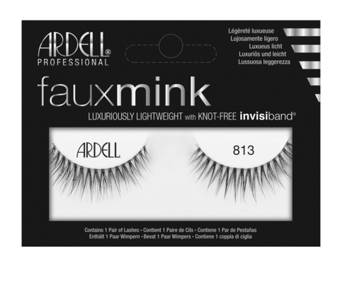 ARDELL Faux Mink False Lashes 813 Black
