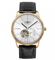 ZEPPELIN Men's Automatic Watch Miesten Rannekello