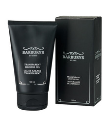 BARBURYS Transparent Shaving Gel Parranajogeeli 100ml
