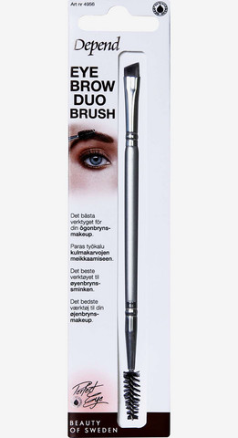 DEPEND Eyebrow Duo Brush Kulmaväri sivellin duo