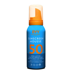 EVY Technology Sunscreen Mousse SPF50 Aurinkosuojavaahto 150ml