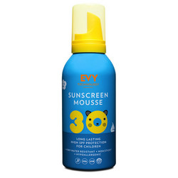 EVY Technology Sunscreen Mousse SPF30 Kids Lasten Aurinkosuojavaahto 150ml