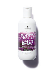 SCHWARZKOPF Bold Color Wash Purple Värjäävä Violetti Shampoo 300ml