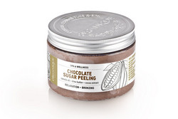 ORGANIQUE Spa Chocolate Sugar Peeling Puhdistava Sokerikuorinta 200ml