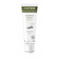 CATTIER PARIS Face Clay Scrub All Skin Types Hellävarainen Kuorintavoide 100ml