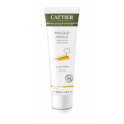 CATTIER PARIS Face Clay Mask Dry Skin Pehmentävä Kasvonaamio 100ml