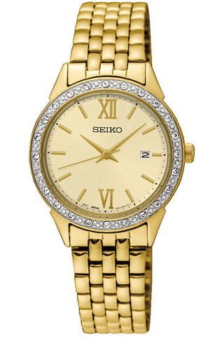 SEIKO Ladies Swarovski Quartz SUR688P1