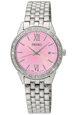 SEIKO Ladies Swarovski Quartz SUR693P1