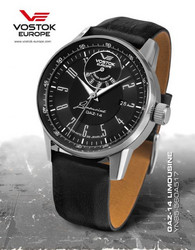 VOSTOK EUROPE GAZ 14 Automatic Power Reserve Miesten Rannekello