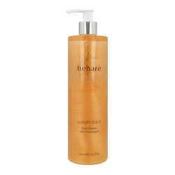 BEBARÉ Luxury Gold Face Cleanser with Champagne Puhdistusemulsio 500ml