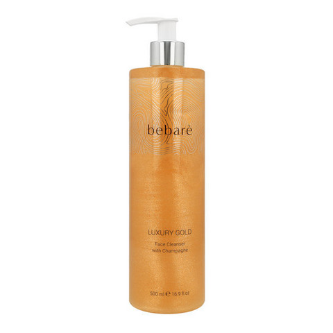 BEBARÉ Luxury Gold Face Cleanser with Champagne Puhistusemulsio 500ml