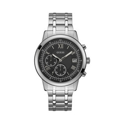 GUESS Summit Stainless Steel Chronograph Miesten Rannekello