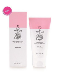 YOUTH LAB Candy Scrub & Mask Kuoriva Karkkinaamio 50ml