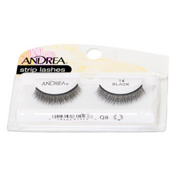 ANDREA Strip Lashes Style 14 Nauharipset